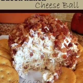 Bacon Ranch Cheese Ball.
