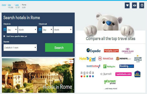 Rome Hotel Booking