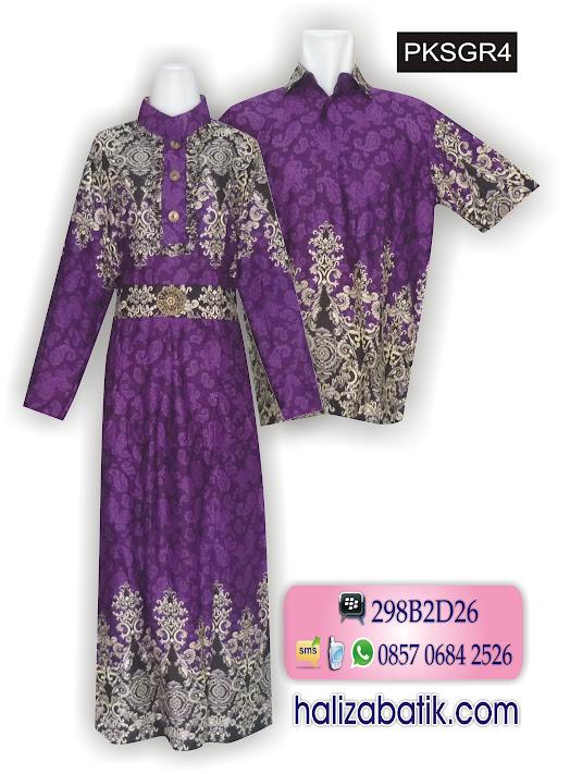 jenis batik indonesia, busana muslimah, baju batik terbaru