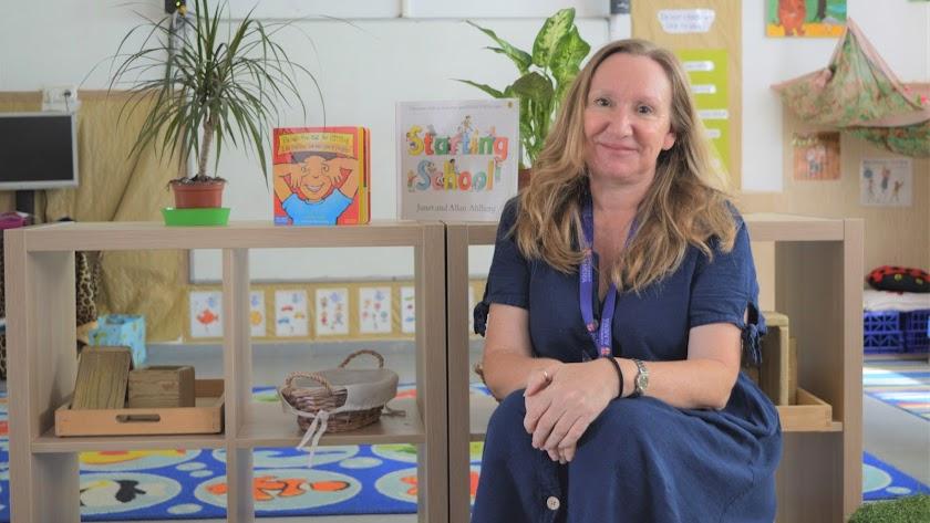 Miss Jane, profesora y coordinadora de \'Foundation Stage\'.