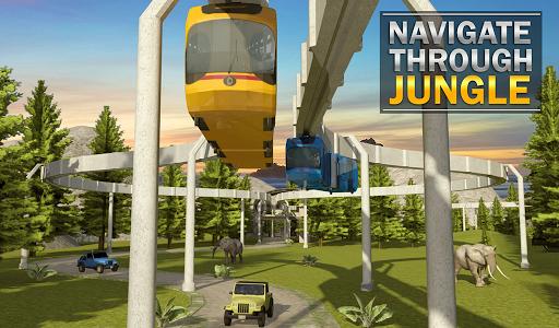 Elevated Train Driving Simulator: Sky Tram Driver apktram screenshots 17