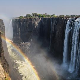 Victoria Falls by Steven Liffmann - Landscapes Waterscapes