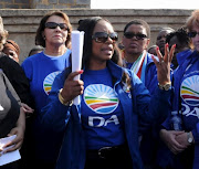 Patricia Kopane of the Democratic Alliance.