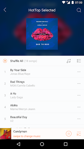 Music Player - just LISTENit, Local, Without Wifi 1.5.46_ww screenshots 6