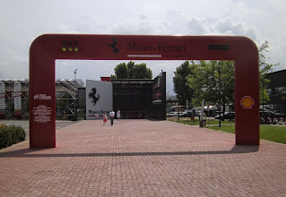 Photo: Frerrarimuseum in Maranello