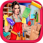House Cleaning Hidden Object Game – Home Makeover icon