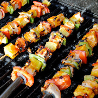Shrimp Kabobs With Red And Green Peppers Recipes