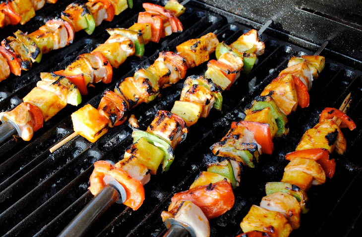 Shrimp and Chicken Kabobs Recipe
