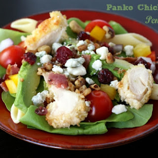 Panko Chicken BLT Penne Salad