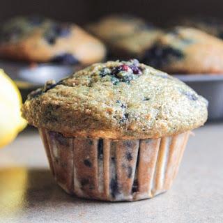 Lemon-Blueberry-Banana Muffins.