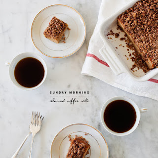 Almond & Cinnamon Coffee Cake