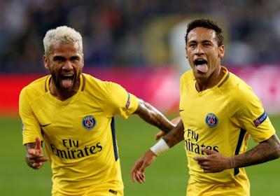 Daniel Alves keurt gedrag Neymar niet goed