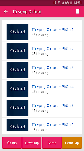 English Vietnamese Dictionary TFlat 6.4.8 screenshots 14