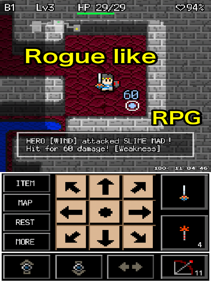 Rogue Hero- screenshot