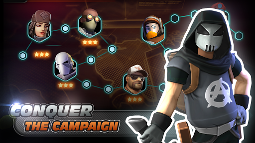 Alpha Squad 5: RPG & PvP Online Battle Arena