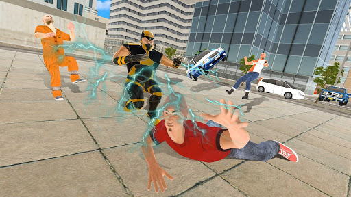 Code Triche Superhero Street Crime Infinity War APK MOD screenshots 5