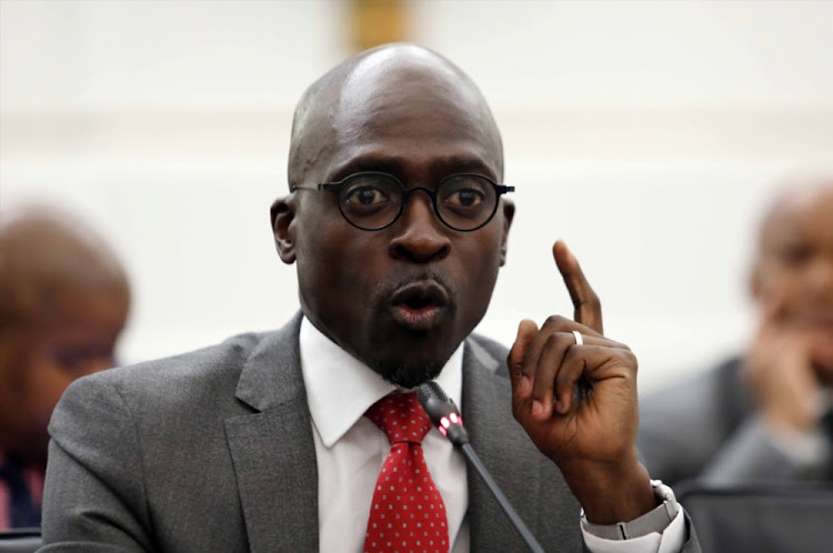 Home Affairs Minister Malusi Gigaba.