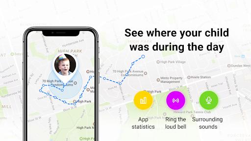 Find My Kids: Child GPS-watch & Cell Phone Tracker 1.9.9 screenshots 1