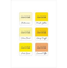 Altenew Dye Inks 6 Mini Cube Set - Sunflower Field