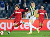 Antwerp heeft haar eerste punt in de Europa League te pakken: The Great Old speelt 2-2 gelijk op het veld van Fenerbahçe SK