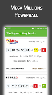 App Washington Lottery Results APK for Windows Phone