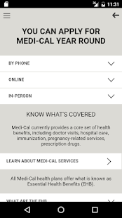 Medi-Cal App- screenshot thumbnail