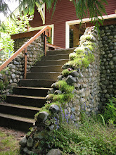 Photo: Day 6: Cool stone stairway at the Kangaroo House Bed and Breakfast.