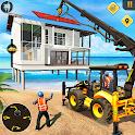 Beach House Builder Construction Games 2021 icon