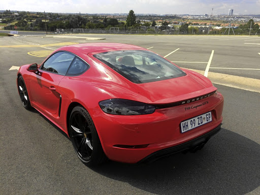 The Cayman still delivers a proper sportscar experience