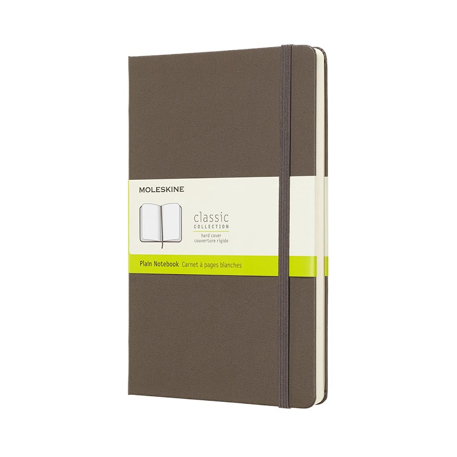 Classic Hard Cover Large Brown