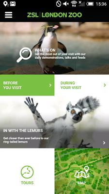 ZSL London Zoo - screenshot