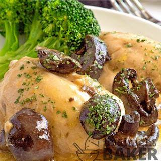 Chicken Thighs Crock Pot Cream Of Mushroom Recipes.