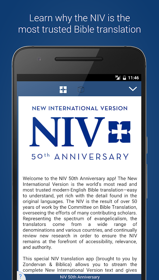 NIV 50th Anniversary Bible- screenshot