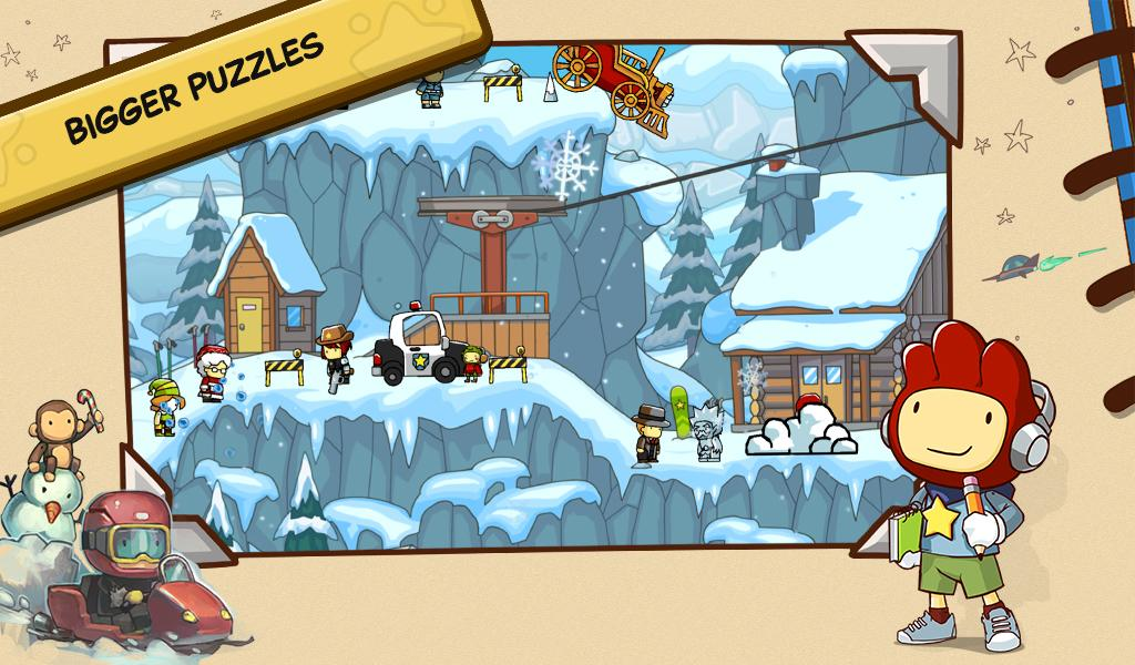 Scribblenauts Unlimited screenshot #4