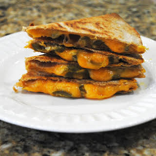 Jalapeno-Cheese Quesadilla.