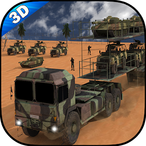 Army Cargo Transport Truck for PC and MAC