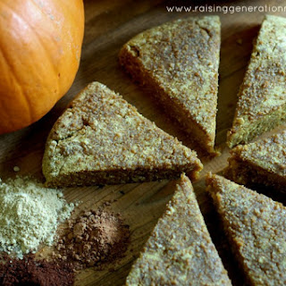 Grain Free Pumpkin Scones