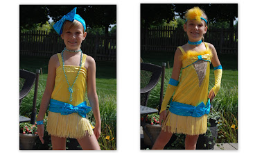 Photo: Here are two costumes that work together as a Duet.  See photos for details.  Will sell apart or as Duet.  Email Pam@Act2DanceCostumes.com