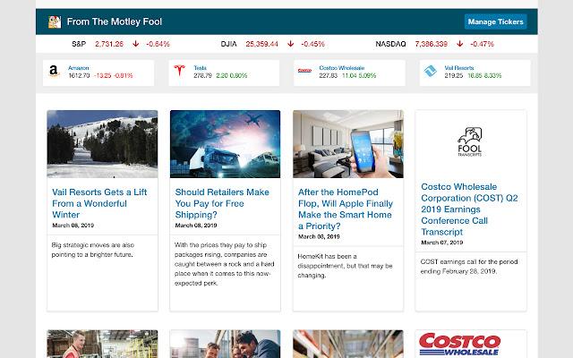 The Motley Fool Homepage