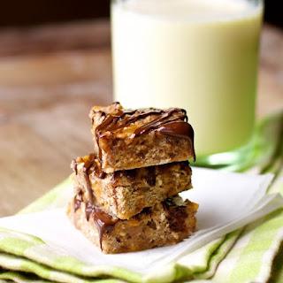 Chewy Chocolate-Pecan Apple Bars