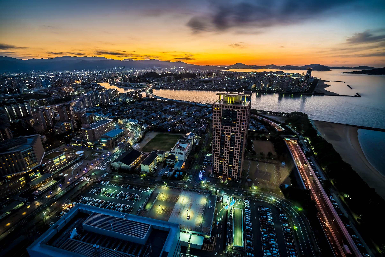 Fukuoka Tower observation deck3