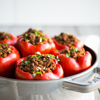 Beef Stuffed Peppers Without Rice Recipes