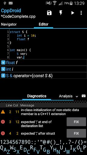 CppDroid - C/C++ IDE 3.3.3 screenshots 1