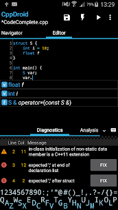 CppDroid – C/C++ IDE App Latest Version Download For Android and iPhone 1