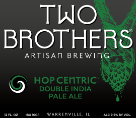Logo of Two Brothers Hop Centric