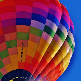 Gracfeul by Laura Bentley - Transportation Other ( ride, free, sky, canada, alberta, colorful, calgary, balloon, float )