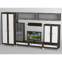 Гостиная-8 производства Черниговской фабрики Тиса мебель