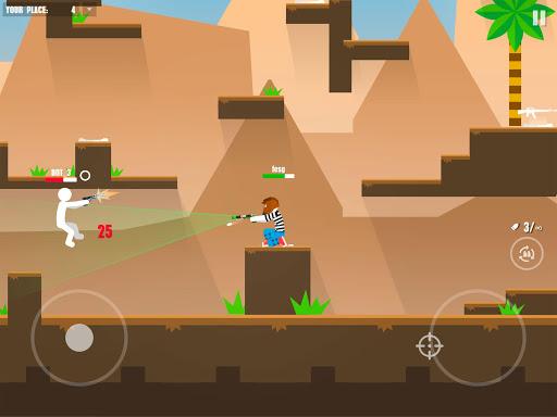 Stickman Battles: Online Shooter 1.0 screenshots 10