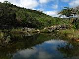 Photo: Córrego Palmital Acompanharei esse córrego até a descida da serra de Mendanha