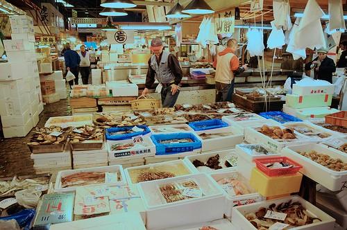 Photo Marché aux poissons de Tsujuki